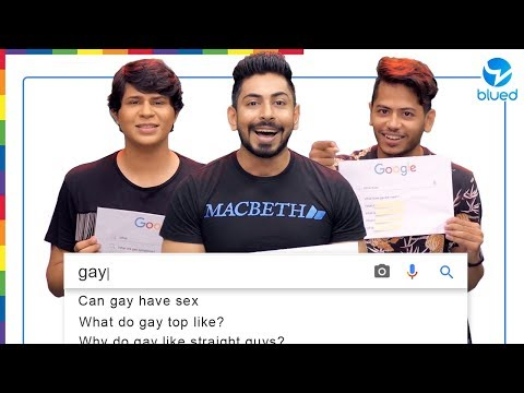 Gay Guys Answer The Web's Most Searched Questions | Indian Edition