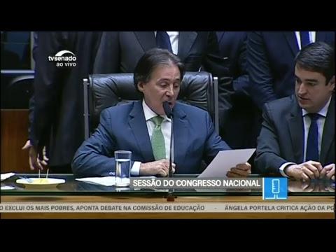 Veto e projetos - TV Senado ao vivo - Congresso - 25/04/2018