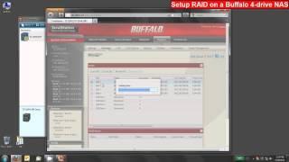 Setup RAID on Buffalo Four-Drive LinkStation or TeraStation NAS