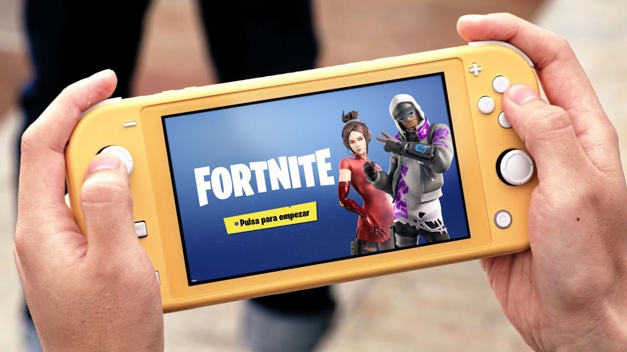 Se Puede Jugar A Fortnite En Una Nintendo Switch Lite Youtube