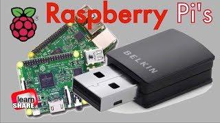 Setup installeert Wifi op de Raspberry Pi 2 1 - Belkin N300 Micro-Draadloze USB Adapter