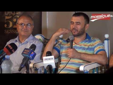 FIC: Conférence de presse de Lotfi Abdelli
