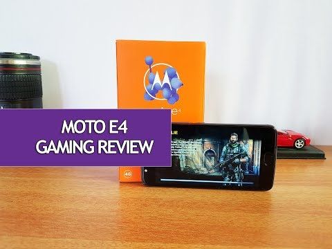 Moto E4 Gaming Review (with Heating Test)