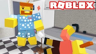 ESCAPE THE EVIL GIANT KITCHEN OBBY / Roblox Episodes / Getting Stuck In A Sink
