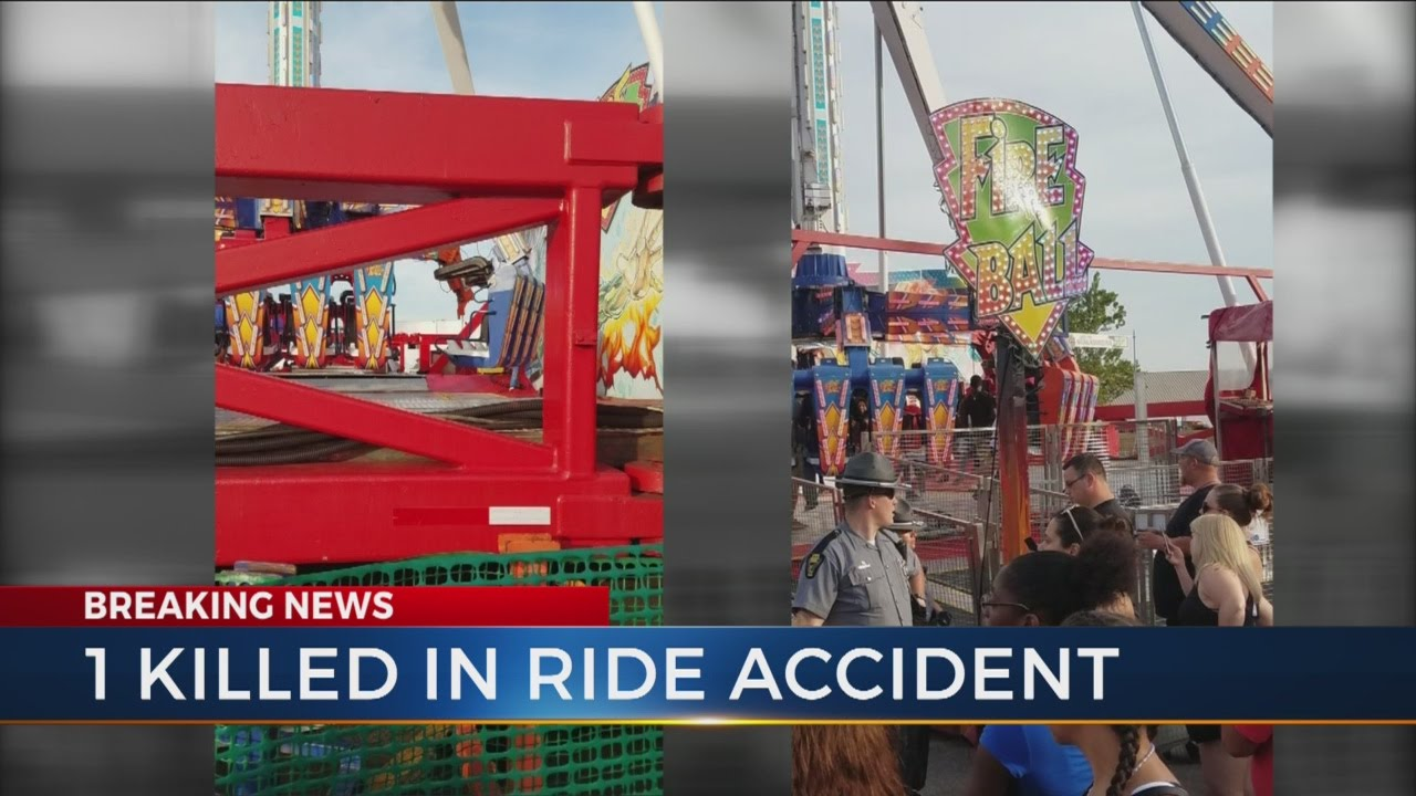 Ohio State Fair: 1 dead, 2 critically injured in ride that was inspected