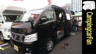 デュオタイプCはビークルが販売する、バンコンキャンピングカー。NV350...