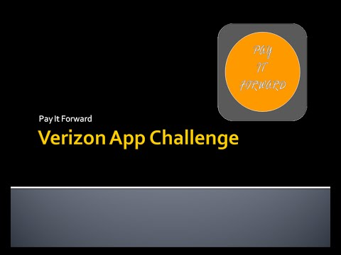 "Harrison High's App was named one of the ""Best of Nation"" for Verizon's Annual Challenge. ""Pay It Forward is an app that allows users to order their own food while also having the ability to easily donate to those who cannot afford to buy their own."