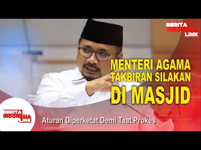 Takbir Keliling Dilarang - Berita Indonesia Link