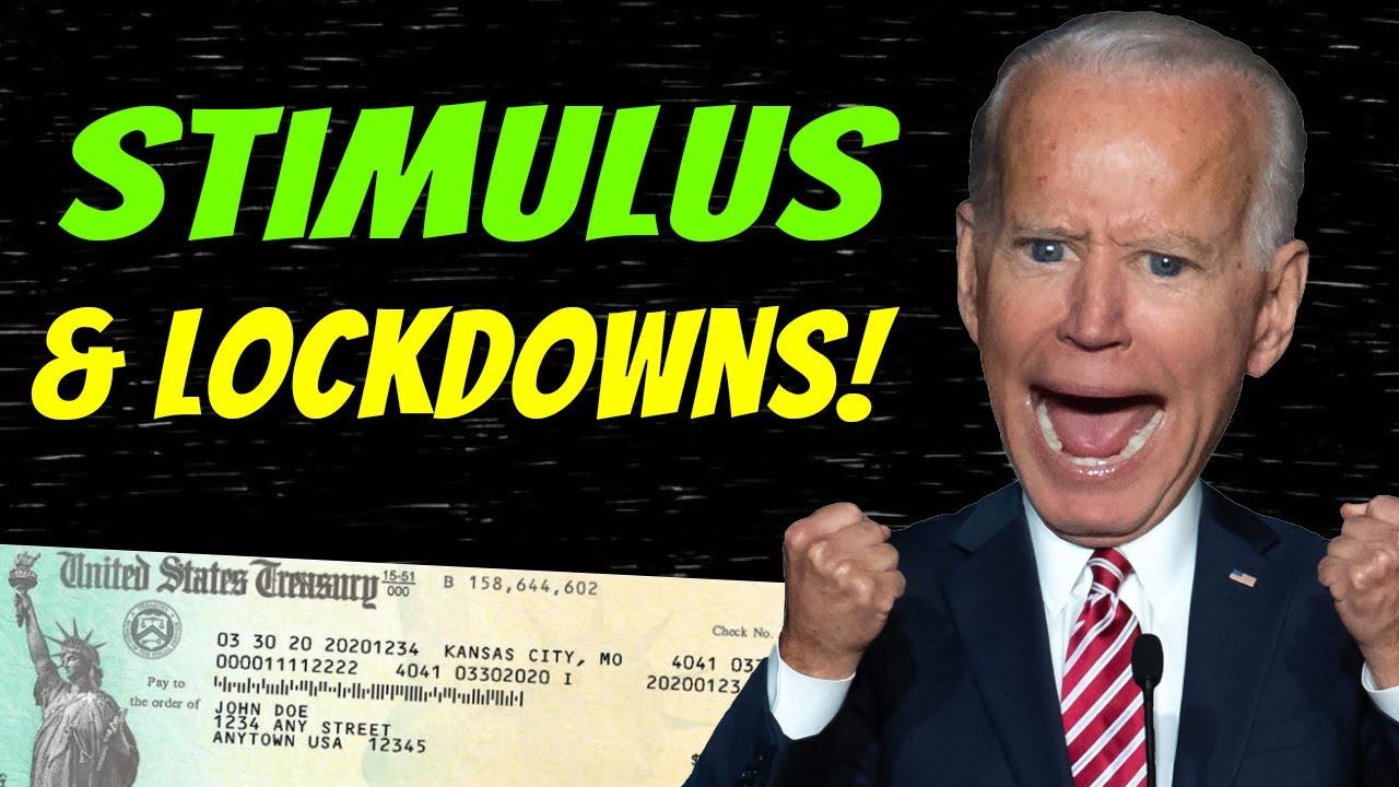Biden Flips! 4th Stimulus Check Update & Mask Mandates | Potential Lockdowns & More - August 1
