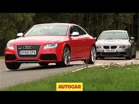 Audi RS5 vs BMW M3 video