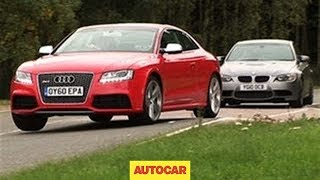 Audi RS5 vs BMW M3 video