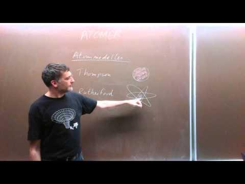Atomer og Bohrs atommodel