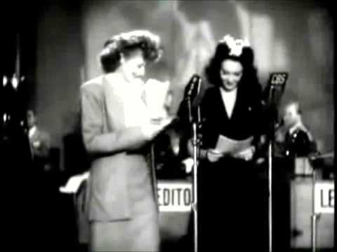 Lucille Ball Linda Darnell Entertain Soldiers During War