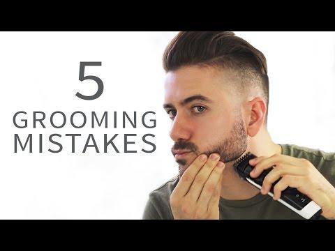 5 Grooming Mistakes