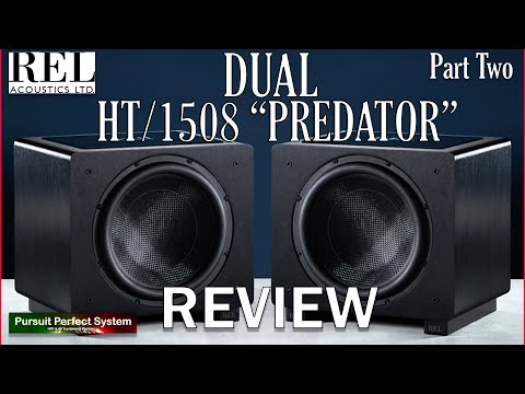 REL Acoustics DUAL HT 1508 Predator FLAGSHIP Home Cinema Subwoofer (s) REVIEW Part Two