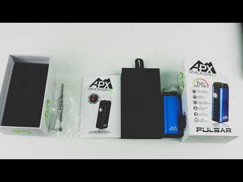 An unboxing look at the APX Smoker from Pulsar Vaporizers!