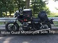 Moto Guzzi Motorcycle Solo Trip. Italy (Sicily), Croatia, Switzerland and Austria