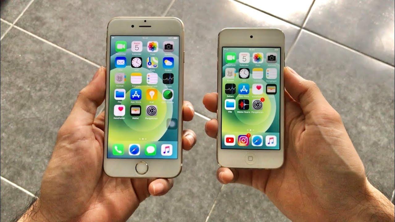 Review Gak Ngotak😂, mending beli iPhone Bypass atau iPod touch..?