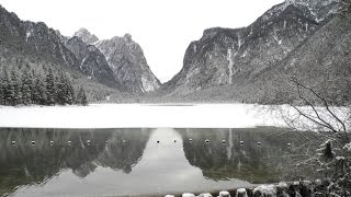 Inverno al lago di Dobbiaco - Winter am Toblacher See