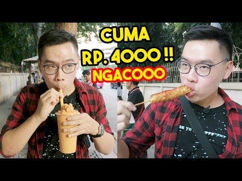 INI SEMUA CUMA RP 4000 DI BANGKOK!! GILA DAH ! - Bangkok Vlog #2