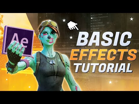 Fortnite Montage Effects TUTORIAL! [After Effects Editing Tutorial]