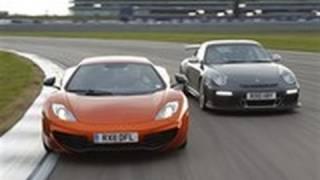 Porsche Gt3 Rs Vs Mclaren Mp4-12c Video Review Feature