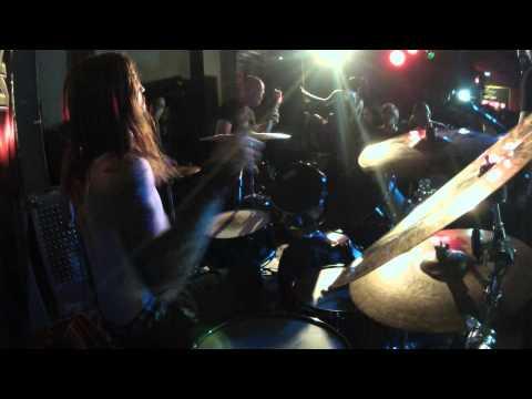 THE RAVEN BLACK PROJECT - Ryan Cox Drum cam - live 05/10/2014