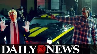 president trump praised snoop dogg before gun music video