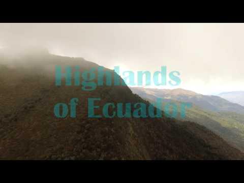 ECUADOR EPIC FOOTAGE OF TROPICAL ANDES
