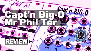 Cre8audio Capt'n Big-O and Mr Phil Ter Euroack modules - Sonic LAB