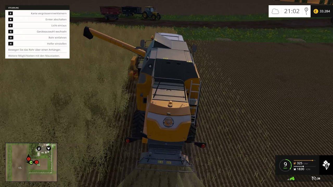 Wir machen unsere Arbeit- Landwirtschafts Simulator 2015 Mission America #015