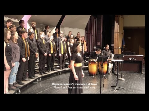 Leve Kanpe by Sydney Guillaume - Biddeford High School Singers