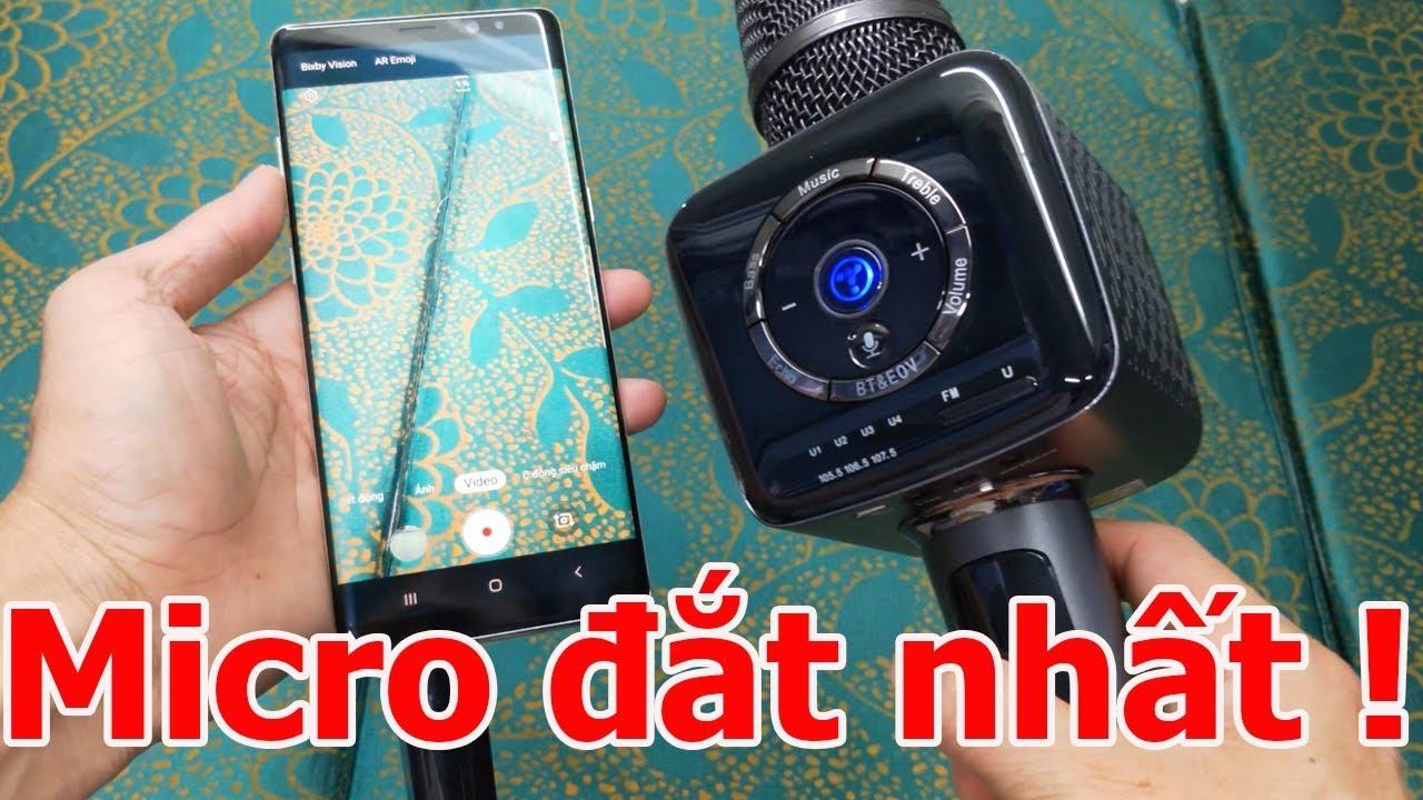 Micro Karaoke Bluetooth Giá Đắt Nhất – Tốt Nhất Tosing V1 | Temhang