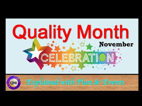 Quality Month Celebration - November Month
