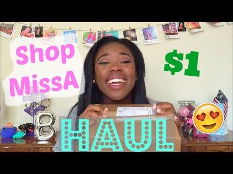 Everything $1 | ShopMissA Haul