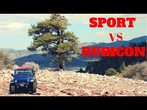 Jeep Wrangler JL Sport Vs Rubicon , Why I Bought A Sport