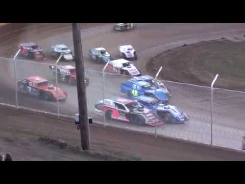 Cedar Lake Speedway Midwest Modified Feature 04/28/2018