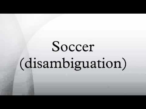 Soccer (disambiguation)
