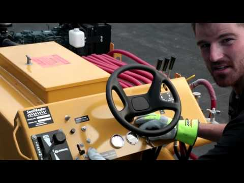 Sealcoating Squeegee Spray Machine | SealMaster Seal Coat Equipment