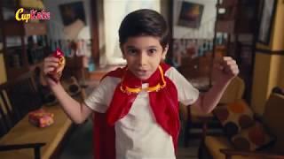 Hilal Cup kake Super Hero commercial 2017 Video