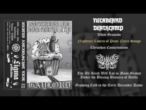 Neckbeard Deathcamp / Gaylord - United Antifascist Evil FULL ALBUM (2018 - Black Metal / RAMB)