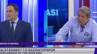 RTÜK'ten ASPOR'a ceza! Erman Toroğlunun yayında etttiği küfür