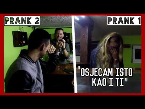 ŽELIM BIT S TOBOM | Double prank | 8rasta9 & xniks2x