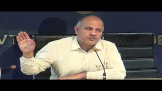 Deputy CM, Delhi & Finance Minister Shri Manish Sisodia on Union Budget 2016-17