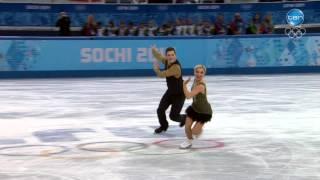 Highlights: Ice Dance - Short Dance -Danielle O'Brien and Greg Merriman