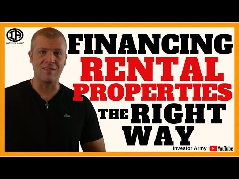 Financing Rental Properties The Right Way