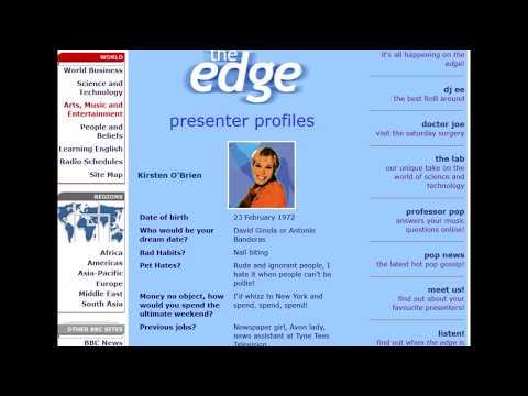 The Edge BBC World Service Episode 2 Part 1 January 2000 - BBC World Service radio [audio]