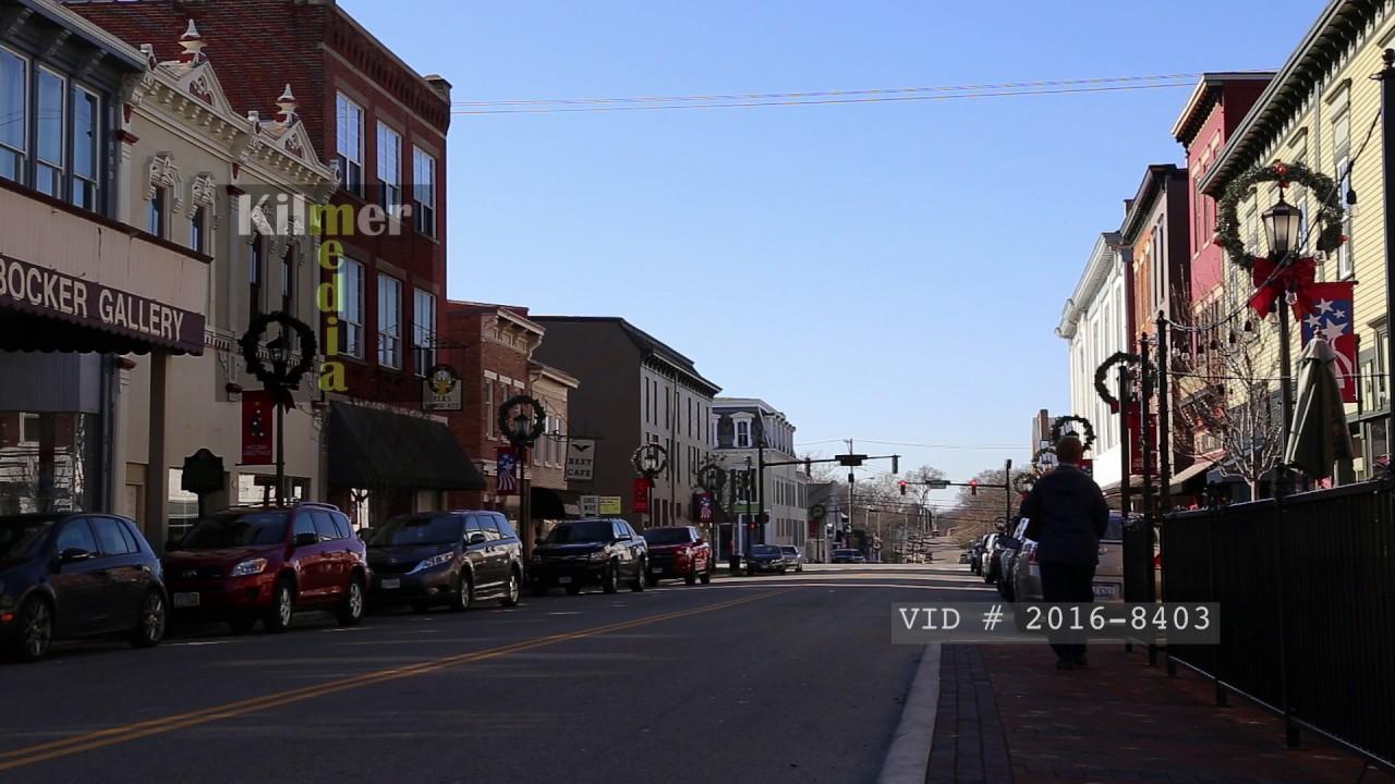 downtown lebanon ohio during the day youtube