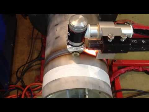 K-TiG Keyhole TIG Welding 10 inch 10mm Stainless 304