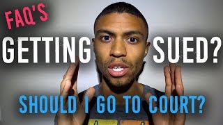 Served Papers Should I Go To Court? || Getting Sued By Creditors Debt Collectors?